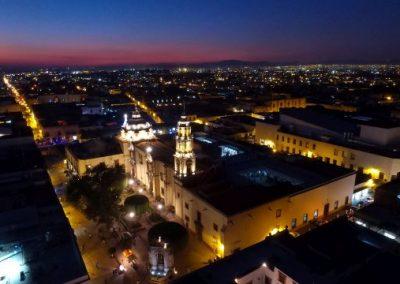 Fotografia aerea nocturna